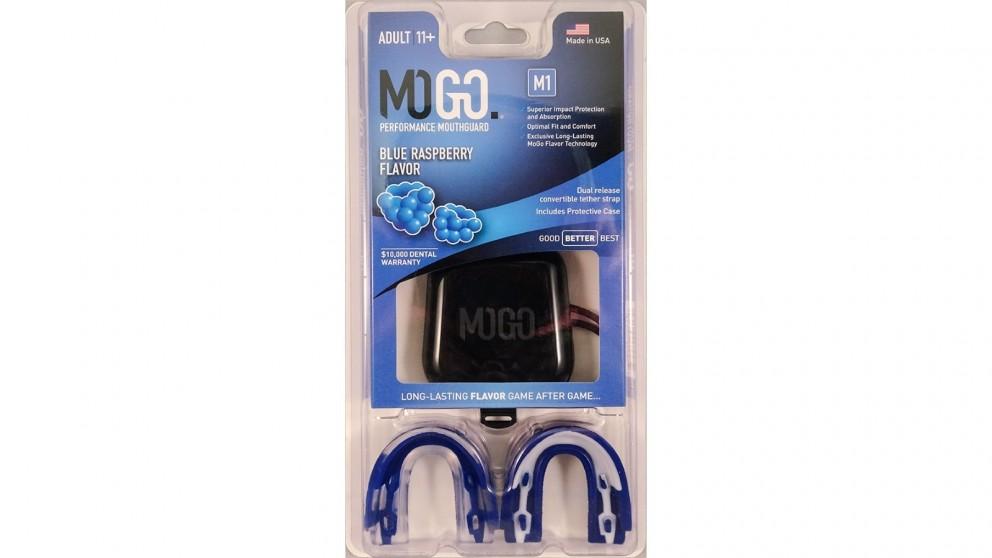 Mogo 2 Pack Adult Mouthguard - Blue Raspberry