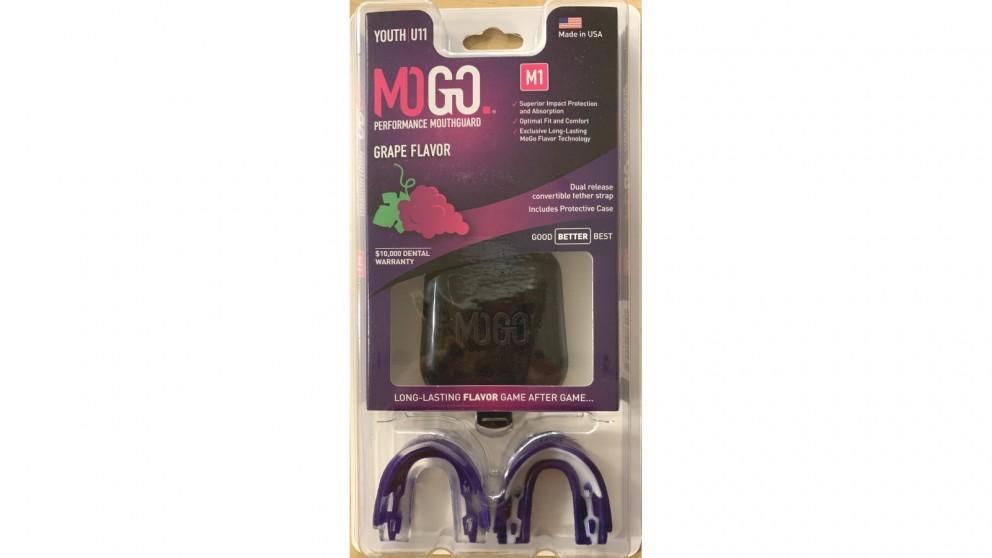 Mogo 2 Pack Youth Mouthguard - Grape