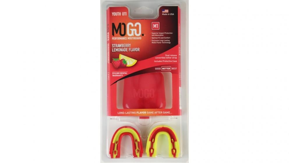 Mogo 2 Pack Youth Mouthguard  - Strawberry Lemonade