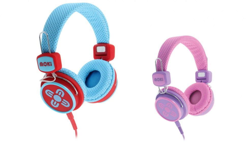 Moki Kid Safe Limited On-Ear Headphones
