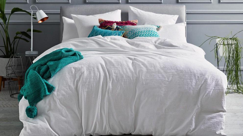 Molly White European Pillowcase