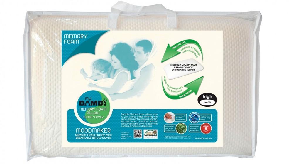 Bambi Moodmaker Memory Foam Standard Pillow
