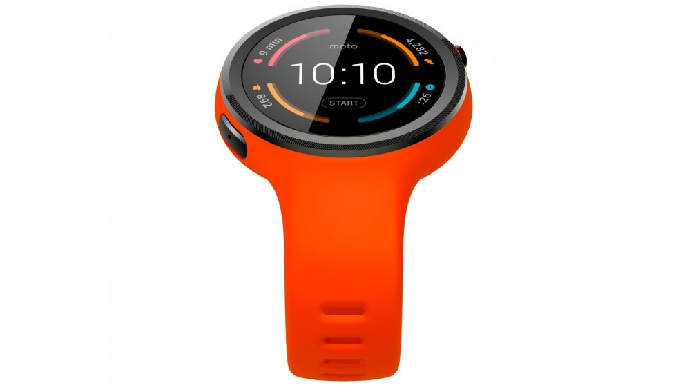 Moto 360 Sport Smart Watch - Flame Orange