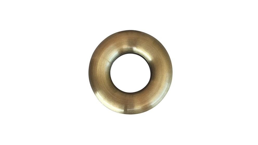 Meir Round Basin Overflow Cover - Tiger Bronze
