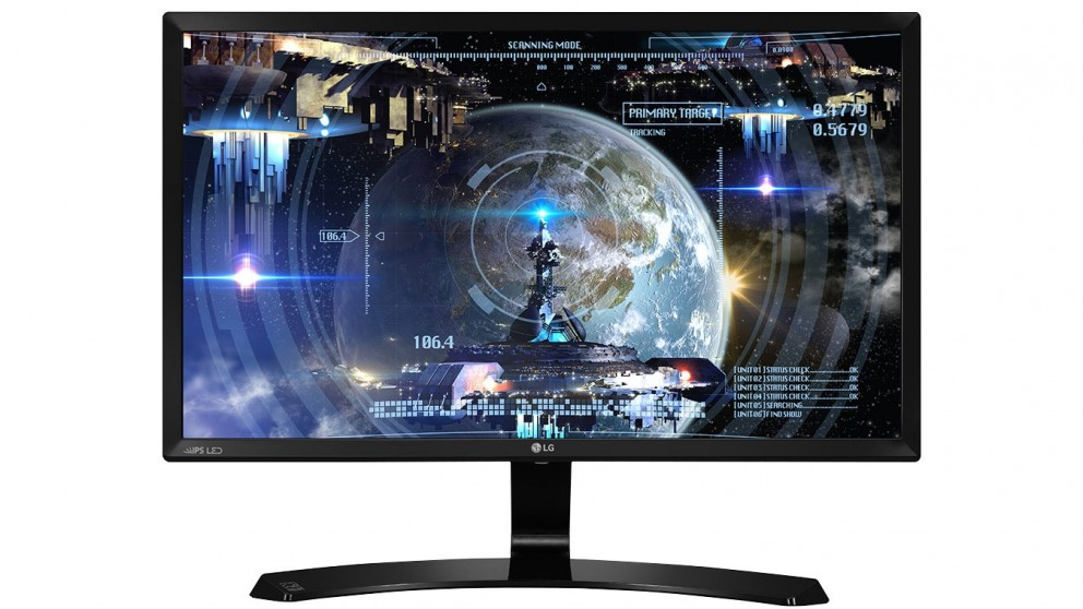 lg 24 full hd ips dual hdmi led monitor monitors computers computers tablets harvey. Black Bedroom Furniture Sets. Home Design Ideas