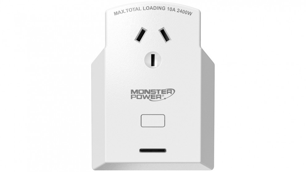 Monster Single Outlet Voice-Activated Smart Power Plug