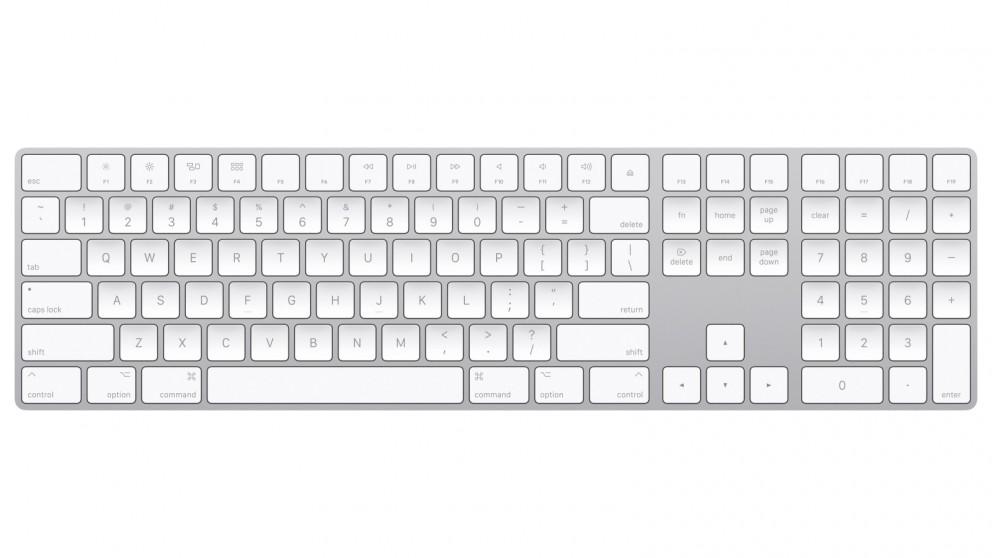 Apple Magic Keyboard with Numeric Keypad - Silver