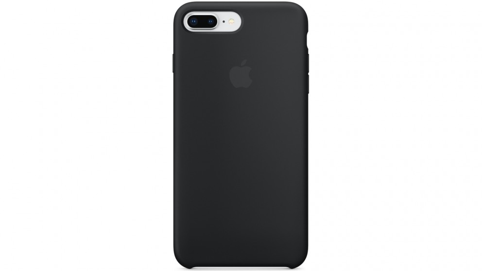 quality design b1f91 2822c Apple iPhone 8Plus/7 Plus Silicone Case - Black