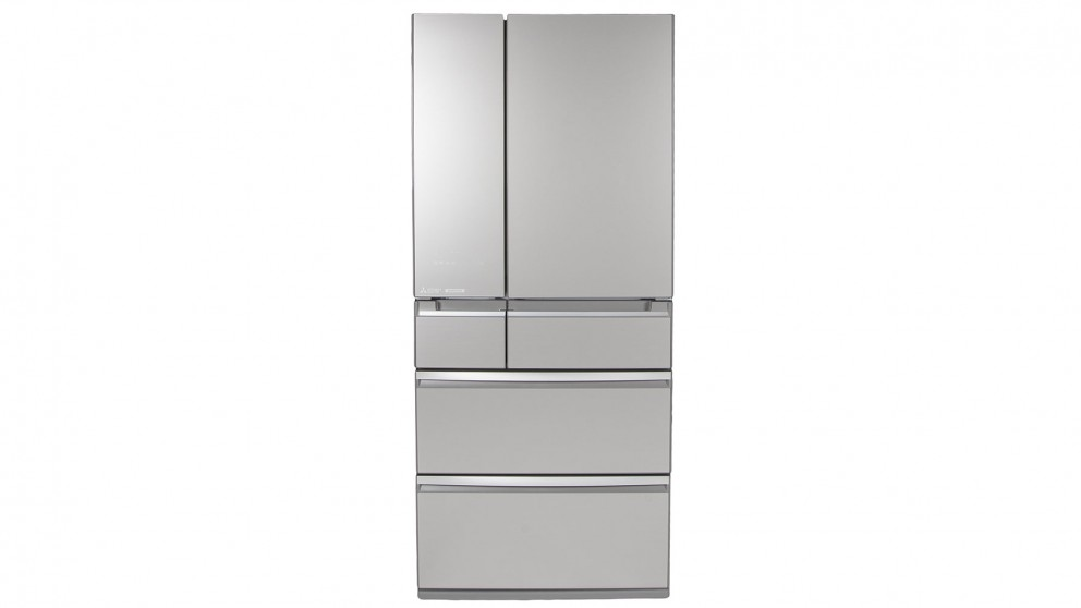 Mitsubishi Electric 743L Multi-Drawer French Door Fridge - Argent Silver