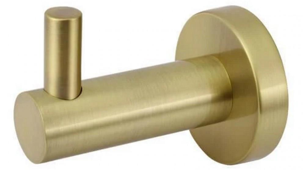 Meir Round Robe Hook - Tiger Bronze Gold