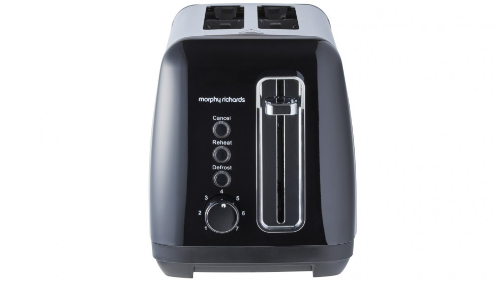 Morphy Richards Equip 2-Slice Toaster - Black Stainless Steel