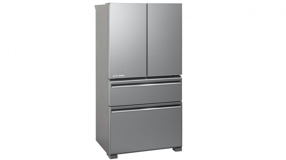 Mitsubishi Electric 630L French Doors Fridge - Argent Silver