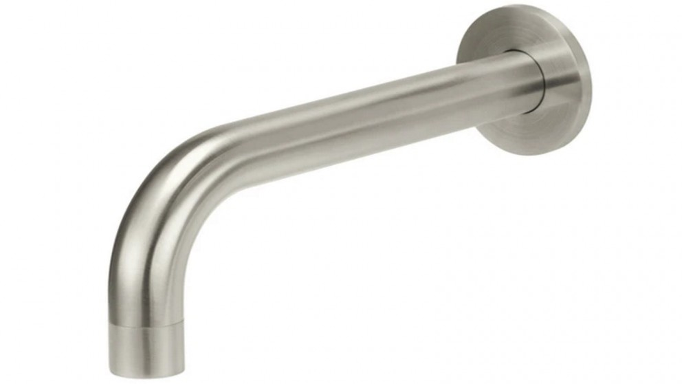 Meir Round Curved Spout - Brushed Nickel