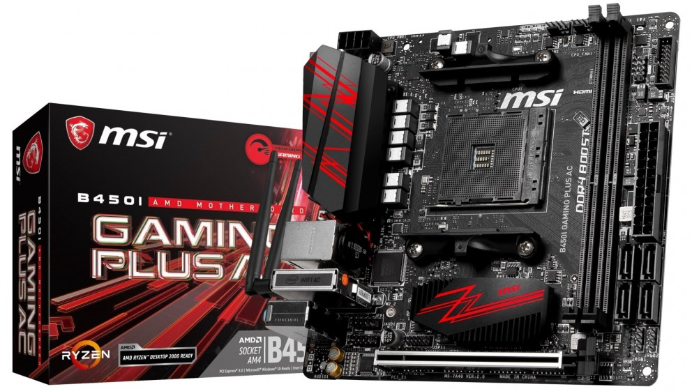 MSI B450I Gaming Plus Motherboard