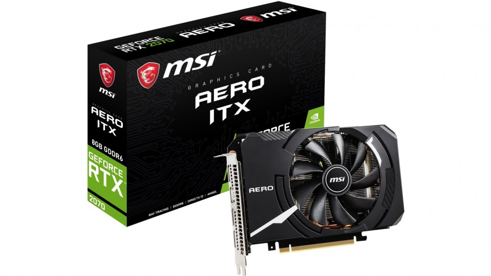 MSI NVIDIA GeForce RTX 2070 AERO ITX 8GB Graphics Card