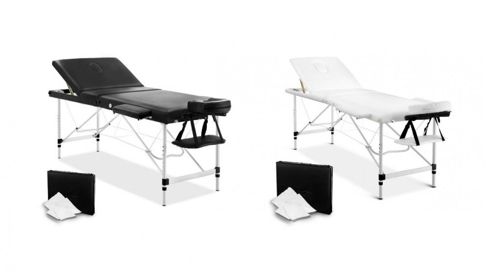 Zenses Portable Aluminum 4 Fold Massage Table