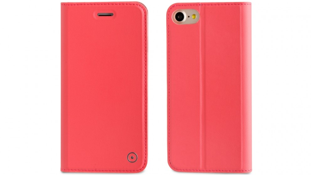 Muvit Folio Stand Case for iPhone 8 - Pink