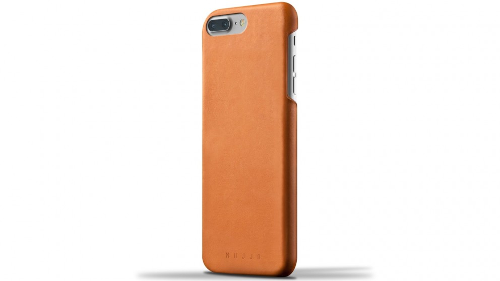 Mujjo Leather Case For iPhone 7 Plus - Tan