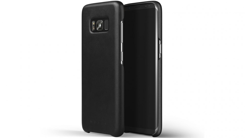 Mujjo Leather Case for Samsung Galaxy S8 - Black