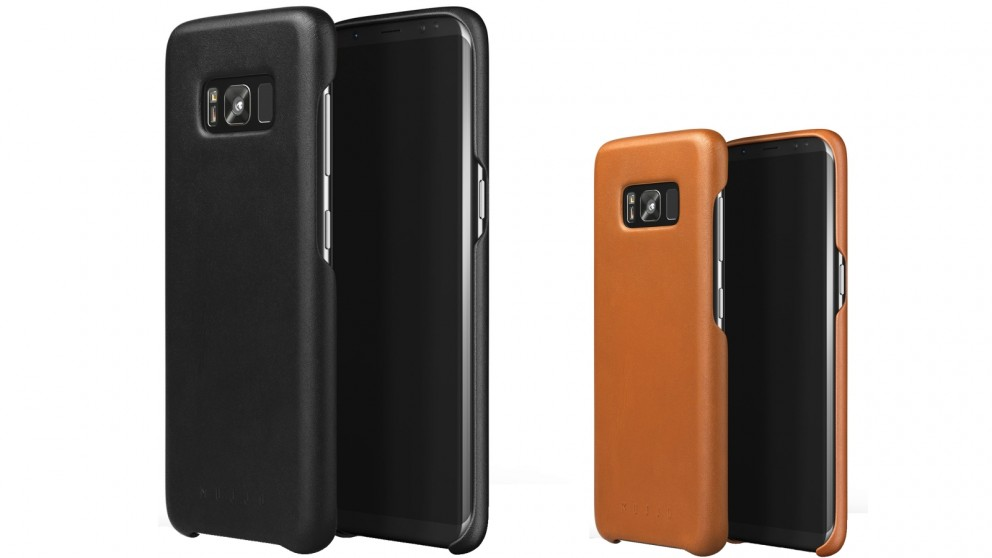 the latest d4ade 0c935 Mujjo Leather Case for Samsung Galaxy S8