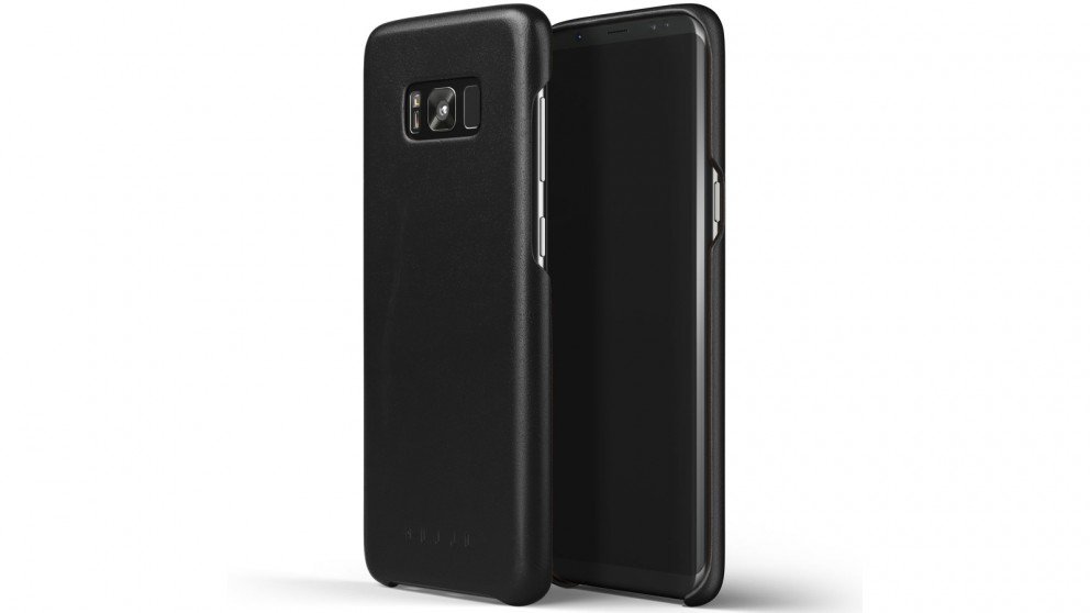 huge selection of 7ded1 a96ca Mujjo Leather Case for Samsung Galaxy S8+ - Black