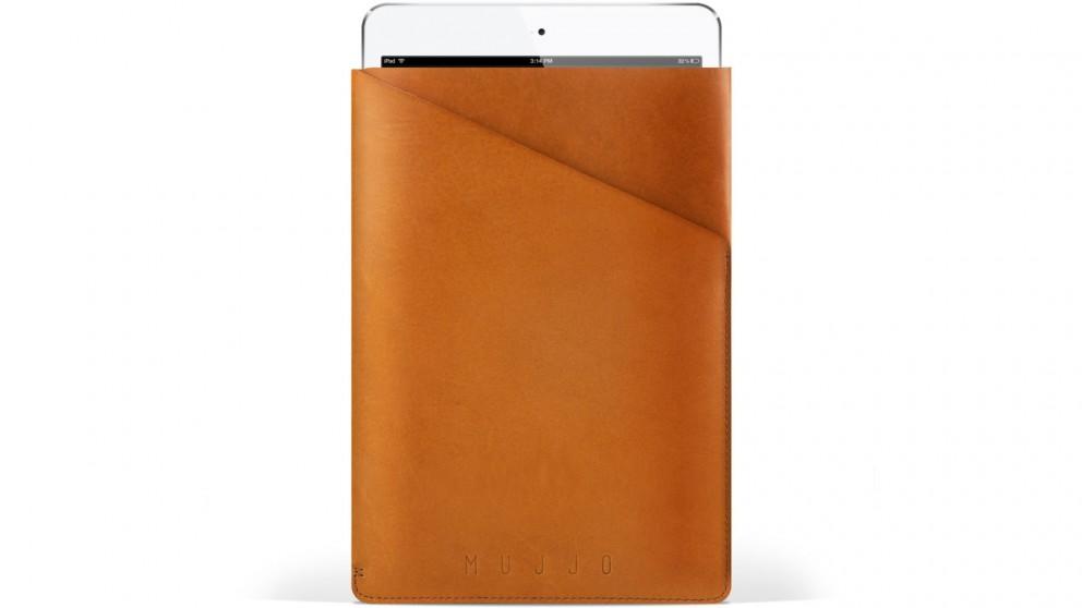 Mujjo Slim Fit Sleeve for iPad Mini - Tan