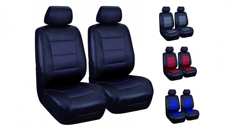 PVC Leather Look Seat Cover Fronts Only