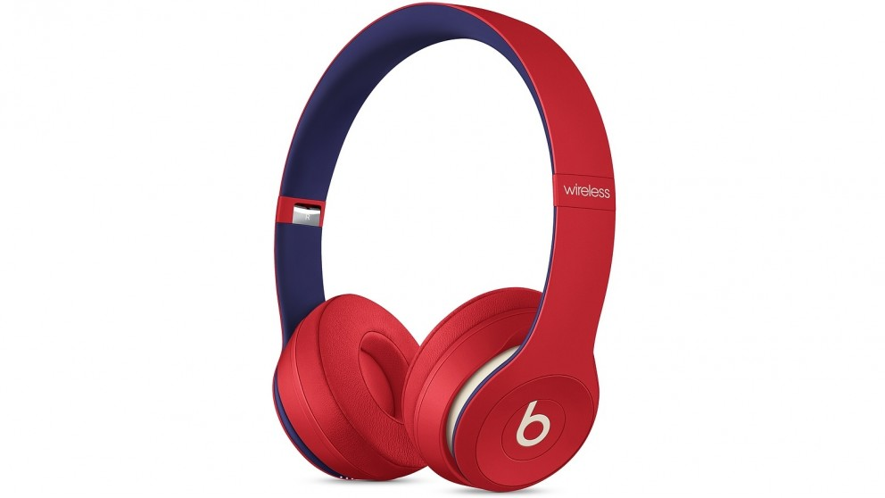 Beats Club Collection Solo3 Wireless On-Ear Headphones - Club Red