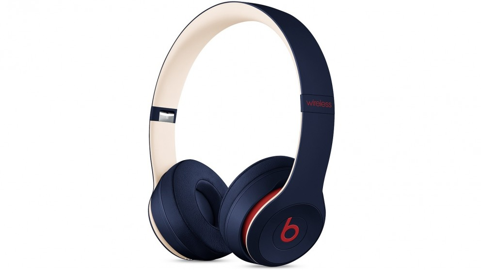 Beats Club Collection Solo3 Wireless On-Ear Headphones - Club Navy