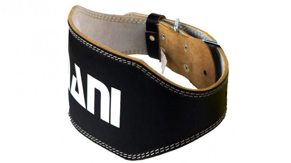 Mani Sports Leather 6-inch Weight Training Belt