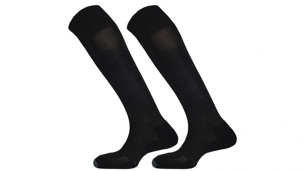 Mitre Size Mini Mercury Plain Football Sock - Black