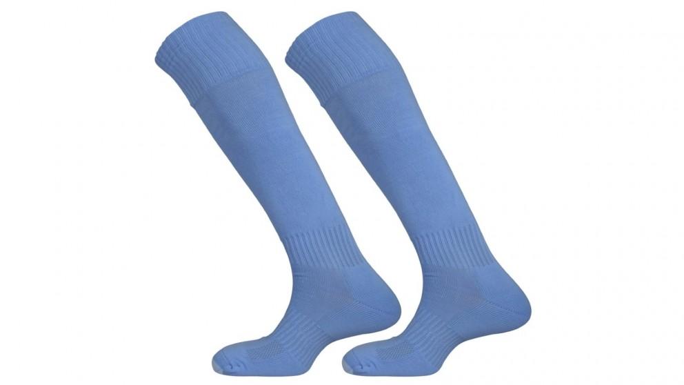 Mitre Size Mini Mercury Plain Football Sock - Sky