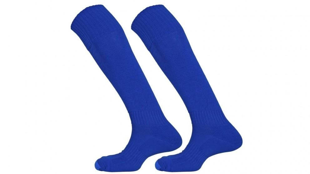 Mitre Size Mini Mercury Plain Football Sock - Royal