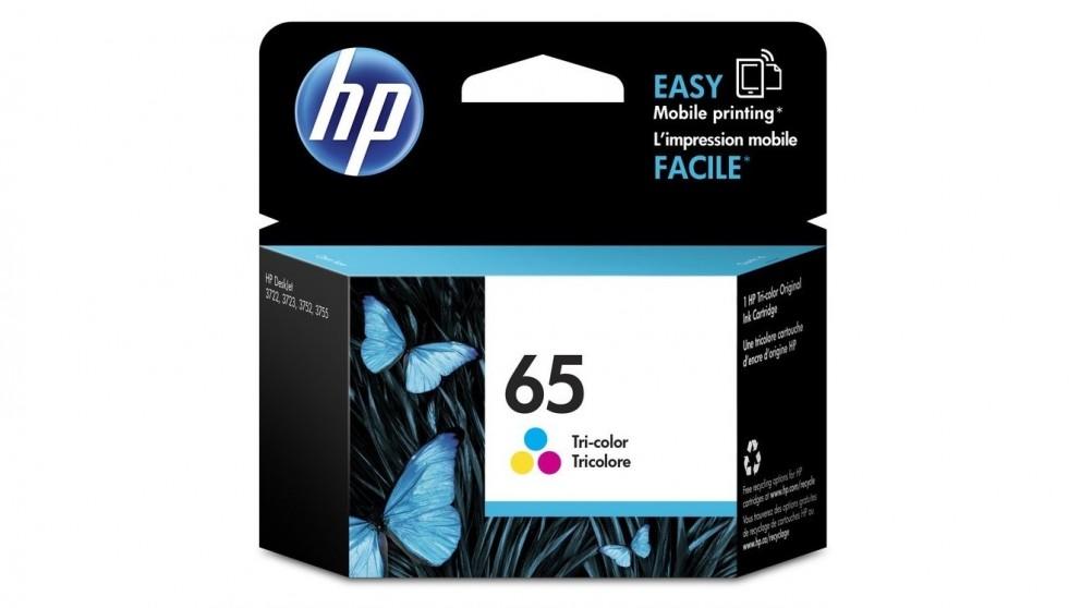 HP 65 Tri Colour Ink Cartridge