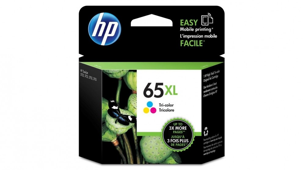HP 65 XL Tri Colour Ink Cartridge