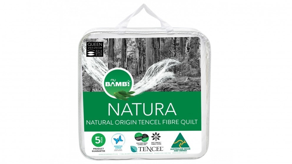 Bambi Naturaeco Tencel Queen Fitted Mattress Protector