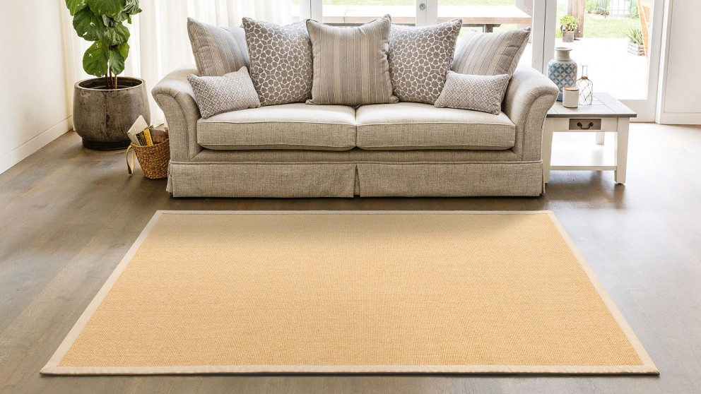 Natural Sisal Twine Natural Extra Large Rug