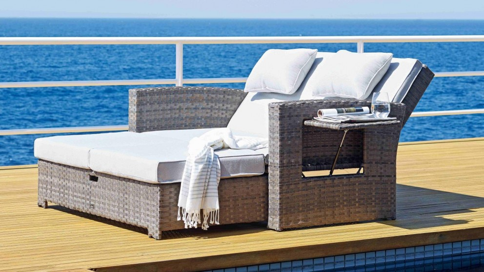 Hampton Outdoor Reclining Daybed   Outdoor Lounges   Outdoor Living    Furniture, Outdoor U0026 BBQs | Harvey Norman Australia Part 60