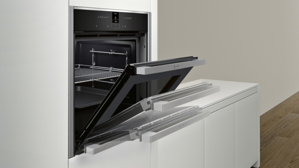 Captivating Oven With Folding Door Contemporary - Image design house ...