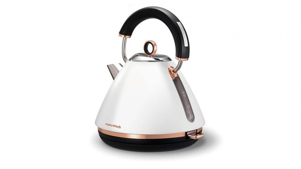 Buy Morphy Richards 1 5l Accents Rose Gold Pyramid Kettle