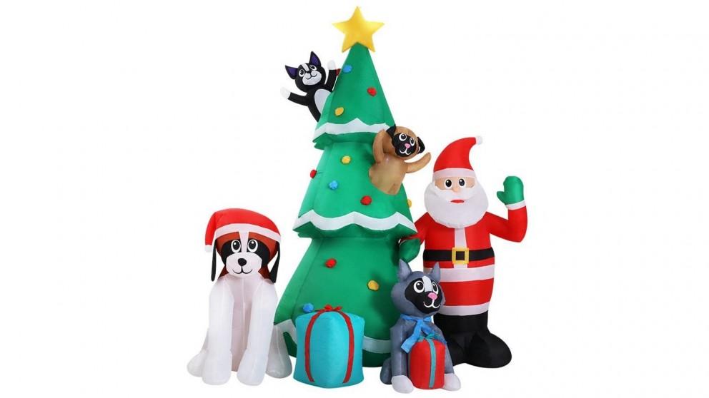 Jingle Jollys 3m Christmas Inflatable