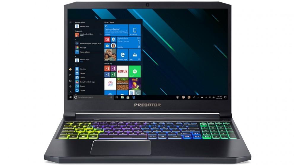 Predator Triton 300 15.6-inch i7-9750H/16GB/256GB SSD + 1TB HDD Gaming Laptop