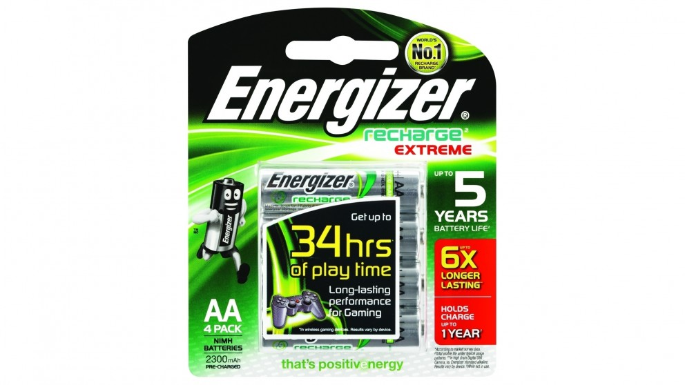 Buy Energizer Recharge Aa Batteries 4 Pack Harvey