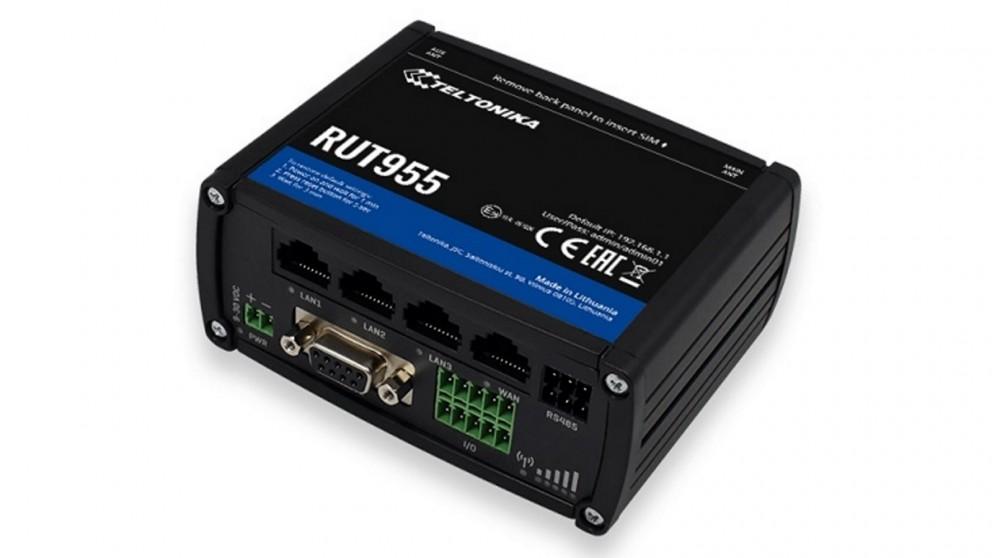 Teltonika RUT955 4G/LTE Wi-Fi Dual Sim Router