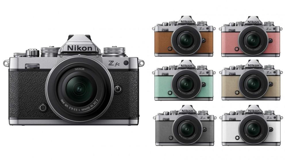 Nikon Z fc Mirrorless Camera with 16-50 VR Silver Lens Kit