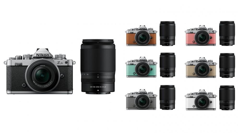 Nikon Z fc Mirrorless Camera with 16-50mm + 50-250mm Len Kit