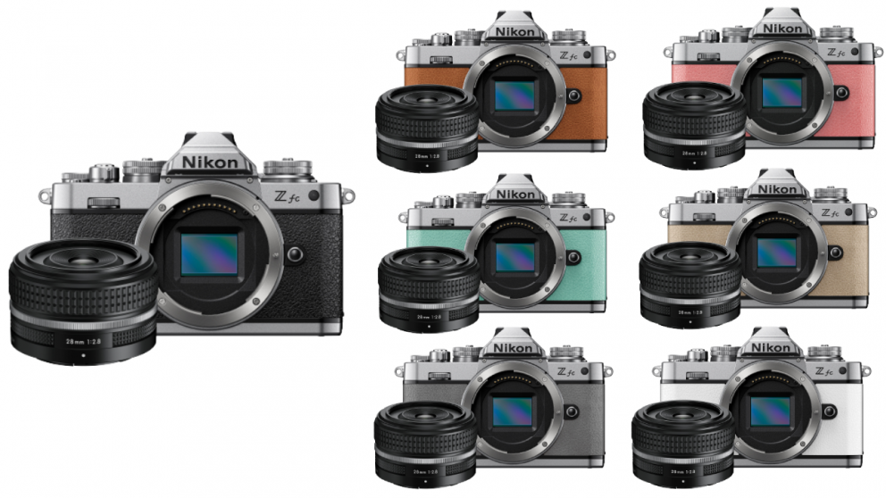 Nikon Z fc Mirrorless Camera with Z28mm f/2.8 Lens Kit