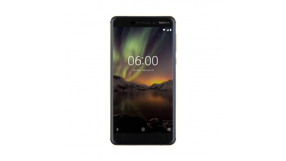 Nokia 6.1 with Android One - Blue