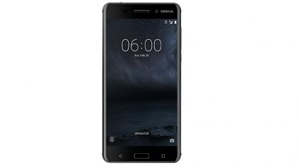 Cheap Nokia 6 32GB - Matte Black   Harvey Norman AU