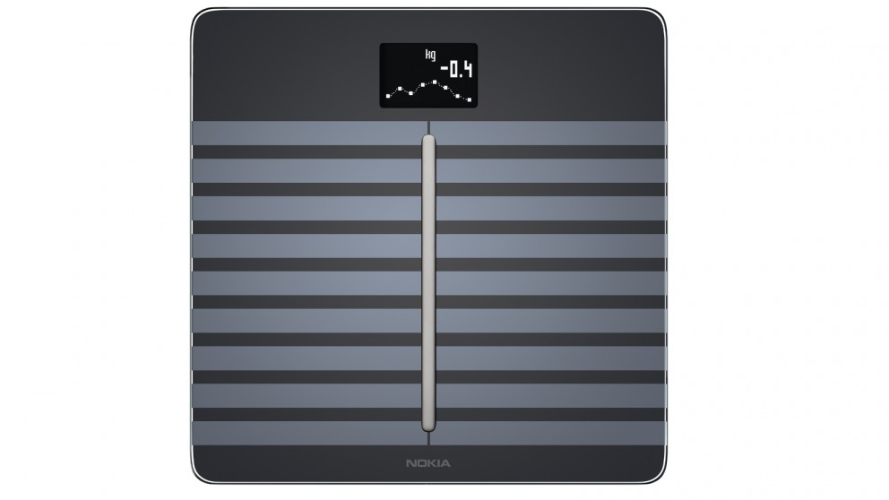 Nokia Body Cardio Wi-Fi Smart Scale with Body Composition & Heart Rate - Black